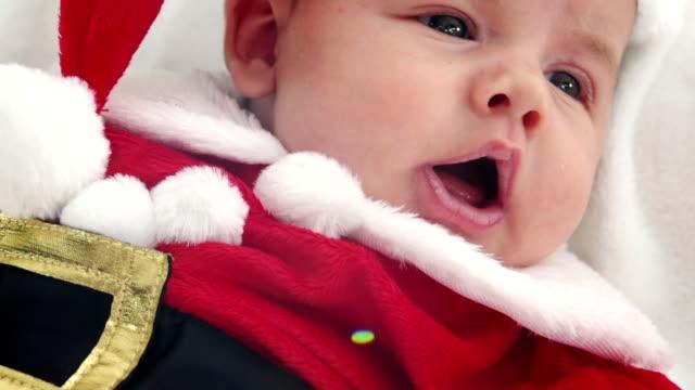 Little Santa New Born Baby video