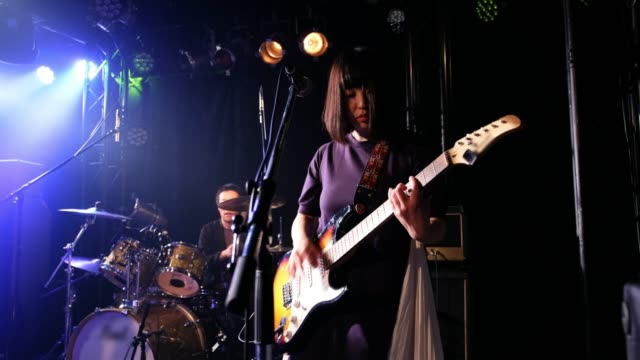 Live Rock Band Show in Tokyo Japan - video