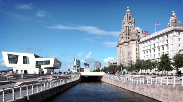 Liverpool Waterfront, England, UK video