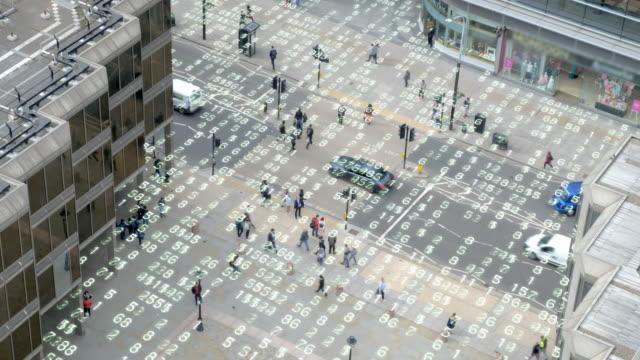 Living in an urban matrix data world. - vídeo