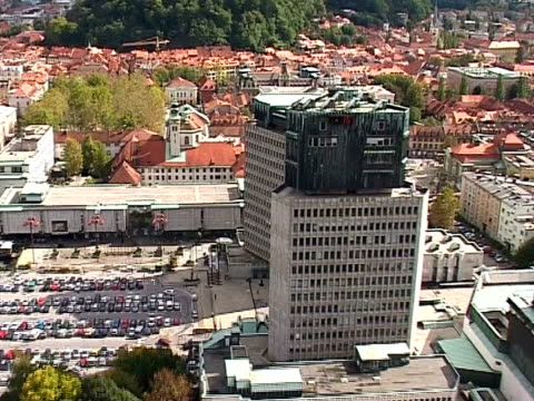 Ljubljana from air video