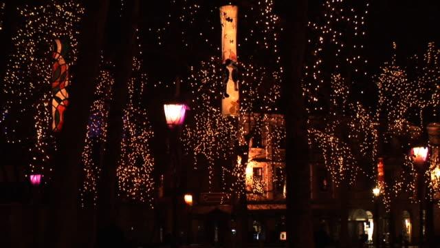 hd: ljubljana in christmas lights - christmas decorations bildbanksvideor och videomaterial från bakom kulisserna