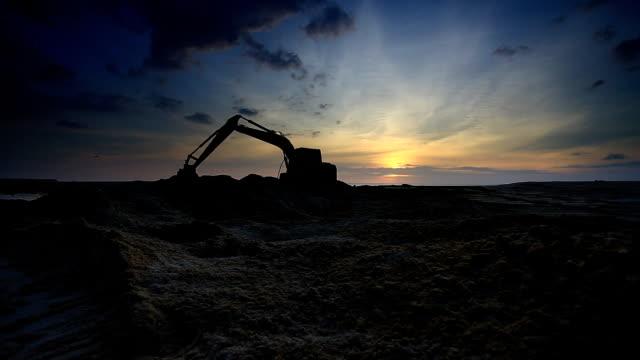 lastare digger - excavator bildbanksvideor och videomaterial från bakom kulisserna