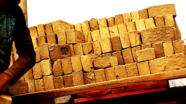 Loading card of brick