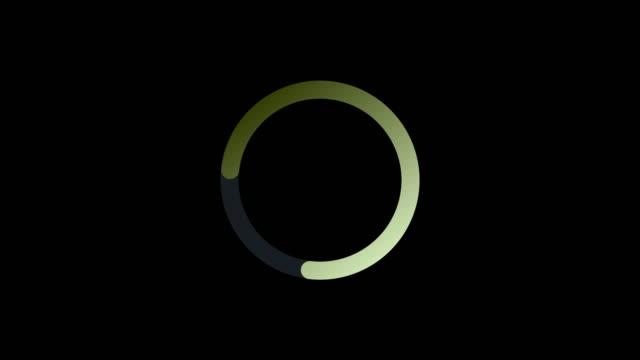 クロマグリーンの背景に販売テキストアニメーションテンプレート - くるくる回る点の映像素材/bロール