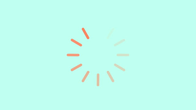 loading circle icon background animation - loading circle icon background with alpha matte. 4K video bar counter stock videos & royalty-free footage