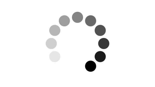 lastning cirkel ikon - fylld bildbanksvideor och videomaterial från bakom kulisserna