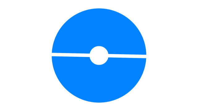 vídeos de stock e filmes b-roll de loading screen circular, blue on white background - 30fps loop - video texture, seamless animated element - produto de carne