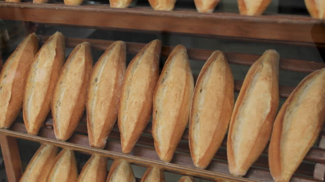 Loaves of bread stock