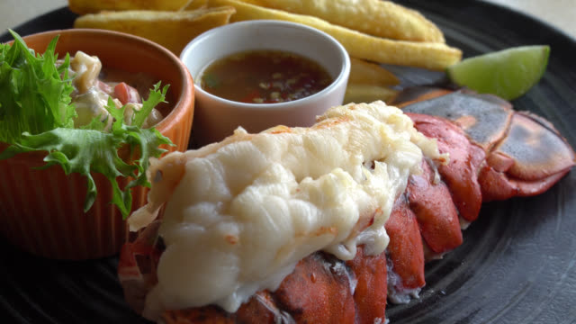 lobster steak video