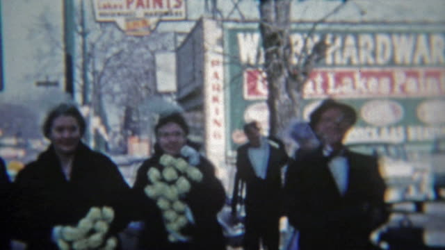 1964: Local hardware store immortalized in family home movies. video