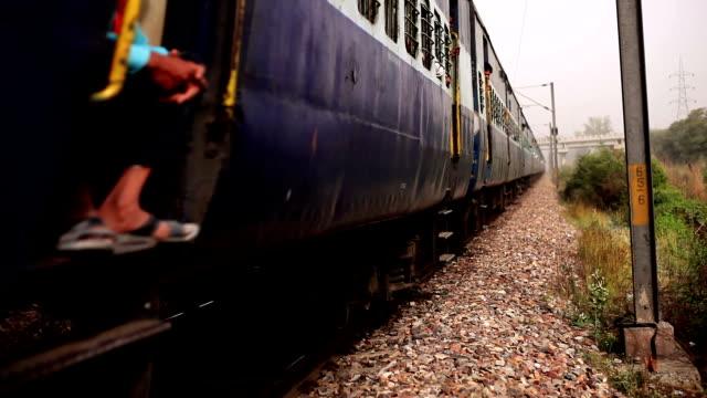 local train in india - intercity filmów i materiałów b-roll