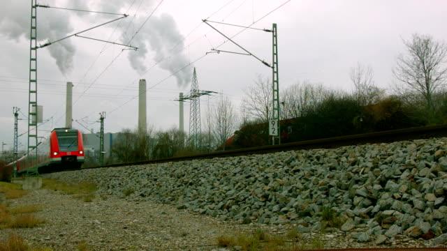 local train passes by - munich train station bildbanksvideor och videomaterial från bakom kulisserna