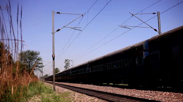 local train - haryana video stock e b–roll