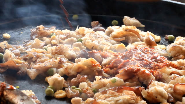 locale cucina vegetariana - sesamo video stock e b–roll