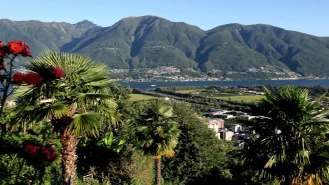 vídeos de stock e filmes b-roll de locarno - lago maggiore