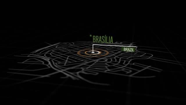Locais de Brasília, Brasil - vídeo
