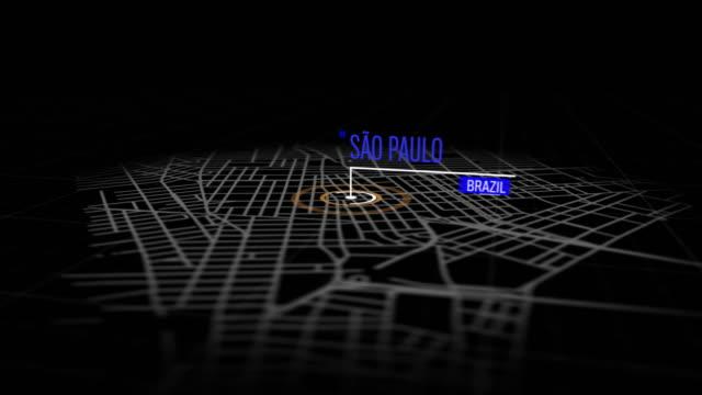 vídeos de stock, filmes e b-roll de locais de são paulo, brasil - pin