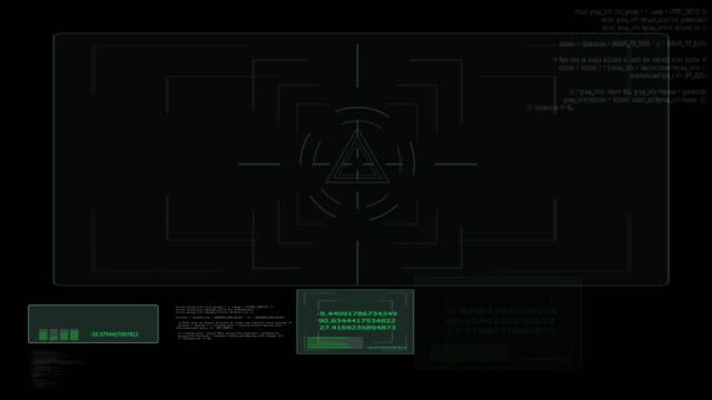 4 K lock scale hacker text analysis black screen background for banner and advertisement