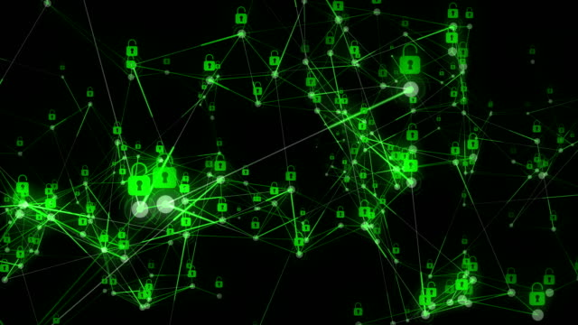 kilit güvenlik bağlantı - www stok videoları ve detay görüntü çekimi