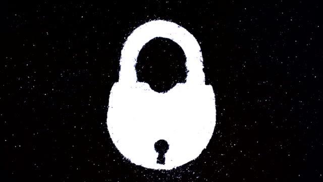 lock - замок средство безопасности стоковые видео и кадры b-roll