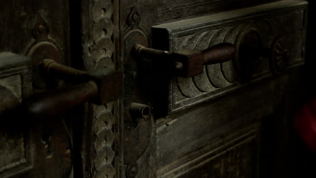 Locked Rusty Door video
