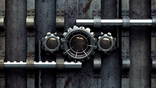 Locked Vault Opening Animation video