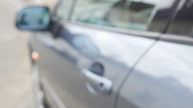 Locking car with remote controlled keys 4K