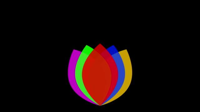 RGB Logo against black
