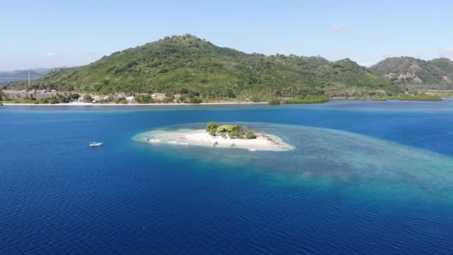 Video Lombok, Indonesia from the sky
