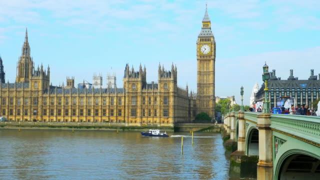 London Big Ben And Westminster Bridge Cinemagraph video