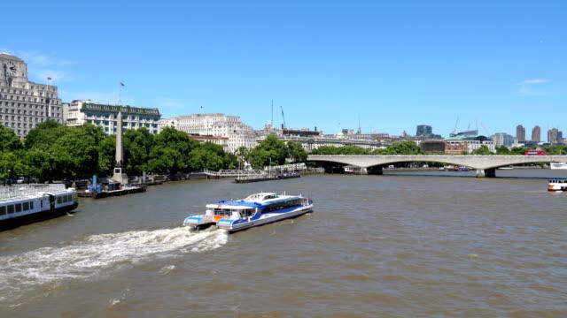 London bridge in 4k slow motion video