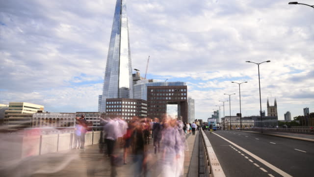 ponte di londra - london bridge inghilterra video stock e b–roll