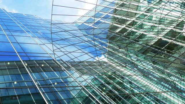 London Canary Wharf Skyscraper Against Sky