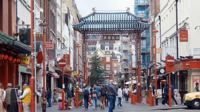 London Chinatown (slow motion) video