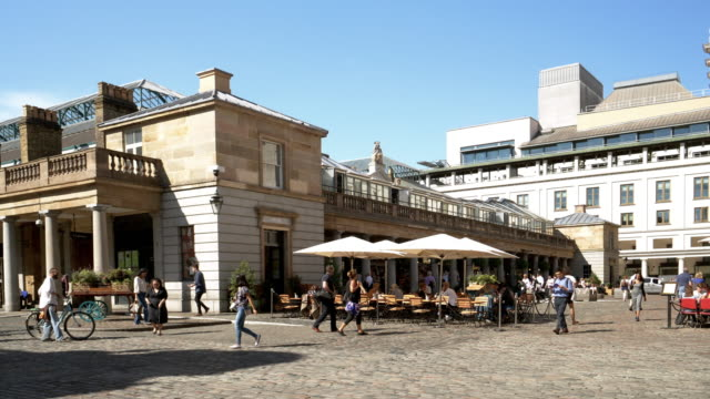 London Covent Garden East Piazza – Video