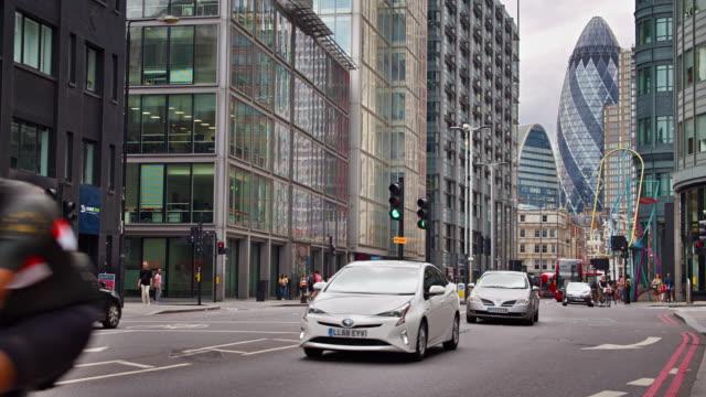 London Financial District, Stadt, Verkehr – Video