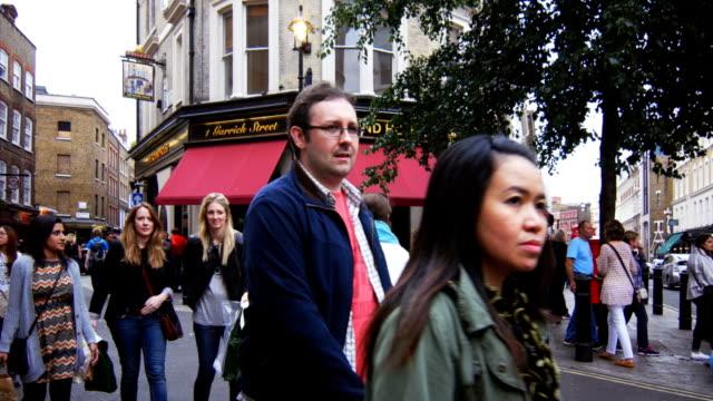 London Garrick Street And New Row (4K/UHD to HD) video