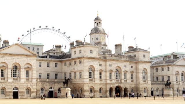 London Horse Guards Building Real time shot made in 4K/Ultra High Definition. True 4:2:2 at 10bit palace stock videos & royalty-free footage