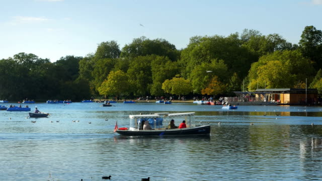 London Hyde Park The Serpentine Lake Cinemagraph video