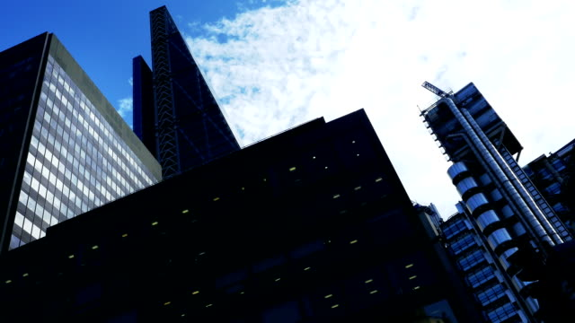 London Lloyd's Building And 122 Leadenhall Street Time Lapse video