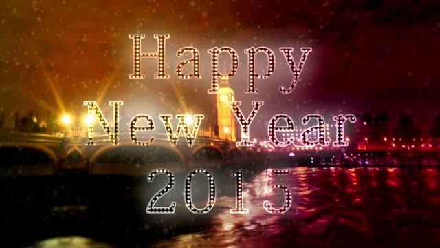 London New year Xmas video