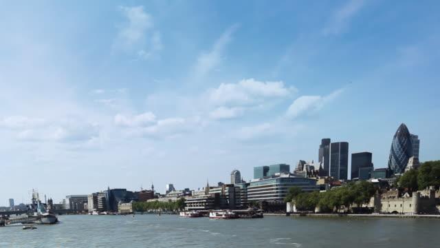 London Skyline Timelapse video