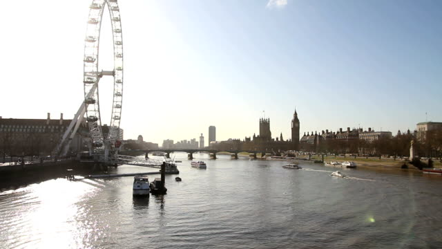 London skyline video