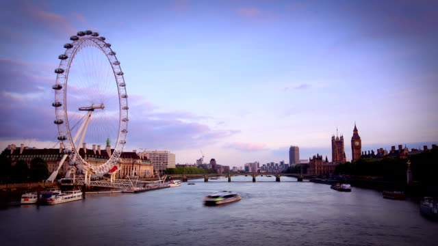 London Skyline video