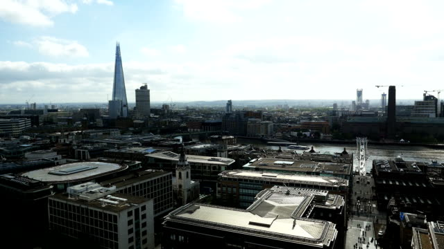 T/L London Southwark Viewed From The City Of London video