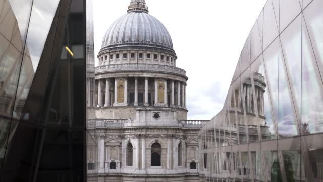 Londoner St. Pauls Cathedral von Aufzug gesehen – Video