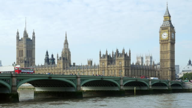 london thames river and houses of parliament - london architecture stock videos & royalty-free footage