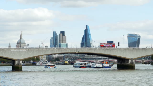 London Themse und die Stadt Cinemagramm – Video