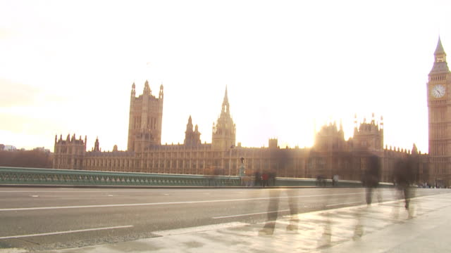 London time lapse city rush hour video